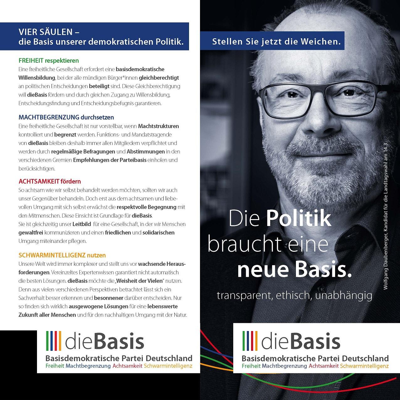 dieBasis - Flyer